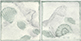 "Inserti Mithos Verde- Grigio(set 2 pz.)  10x10. 4""x4"""