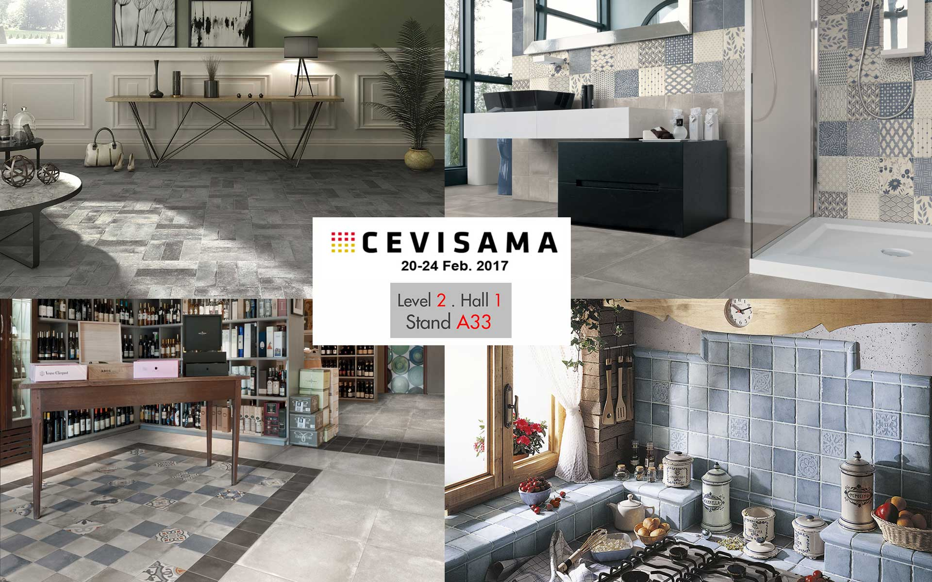 ELIOS Ceramica @ CEVISAMA 2017