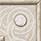 """Ang. Torc. Marmo Bianco  10x10 . 4""""x4"""""""