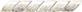 Treccia Marmo Bianco  3x20 . 1