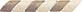 Treccia Marmo Noce-Beige  3x20 . 1