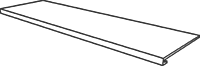 Gradino costa retta  33x120x4x3 . 13