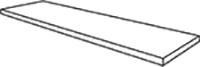 Gradino costa retta angolo destro/sinistro  33x120 . 13